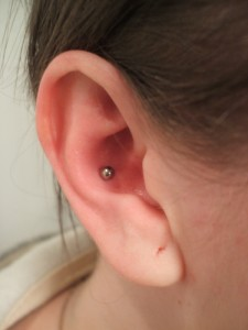 Conch Piercing Images