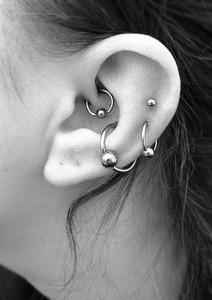 Conch Piercing Photos
