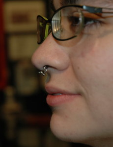 Double Septum Piercing