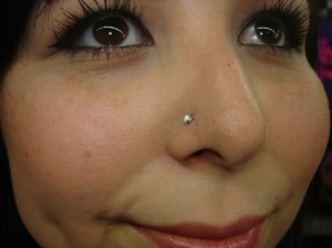 Nose Ring Left Or Right Nostril