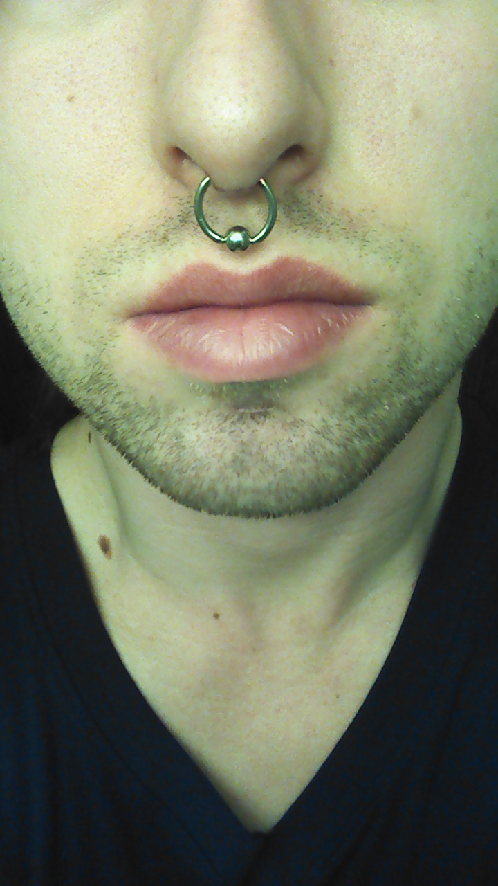 Septum Piercing Guy