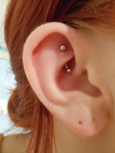 Rook Piercing Images