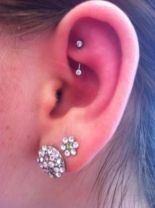 Rook Piercing Pictures