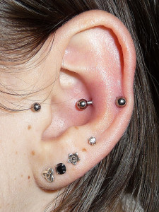 Snug Ear Piercings