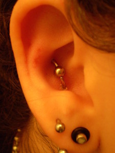 Conch Orbital Piercing