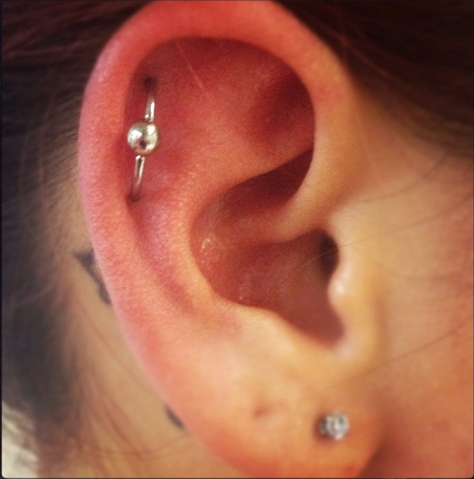 Orbital Piercing Pain Aftercare Jewelry Pictures Body Piercing