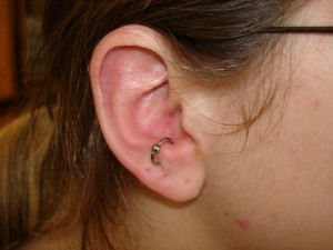 Anti Tragus Piercing Hoop