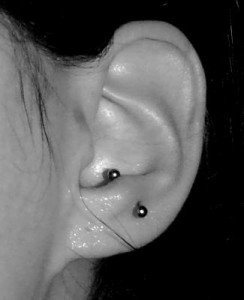 Anti Tragus Piercing Photos