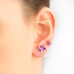 Double Ear Piercing Earrings