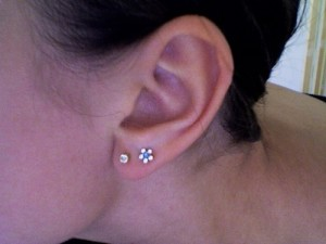 Double Ear Piercings