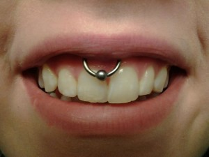 Smiley Piercing Rings