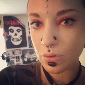 Stretched Medusa Piercing