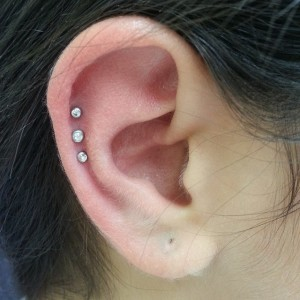 Triple Ear Piercing Cartilage