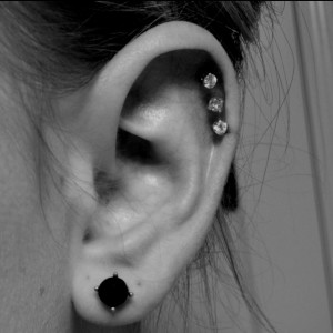 Triple Piercing Cartilage