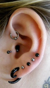 Ear Lobe Piercing Jewelry
