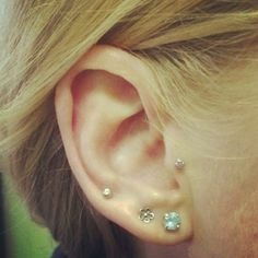 Upper Ear Lobe Piercing