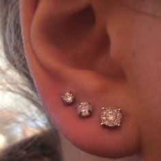 Triple Ear Piercings