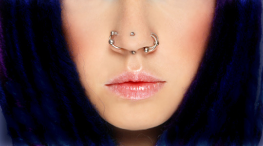 Double Nose Piercing Types, Jewelry, Pictures | Body ...
