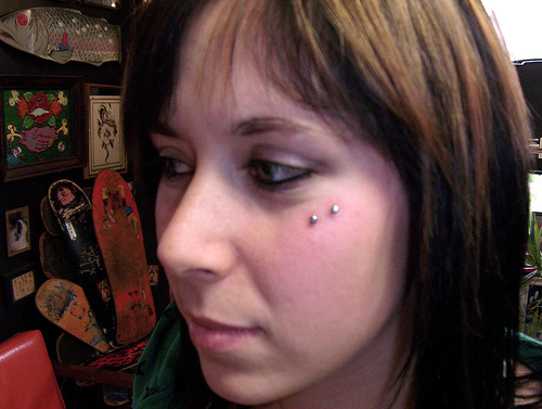 Anti Eyebrow Piercing Information Healing Cost Pictures